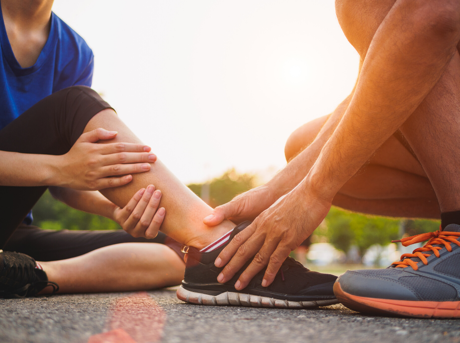 A injury ankle that needs prolotherapy